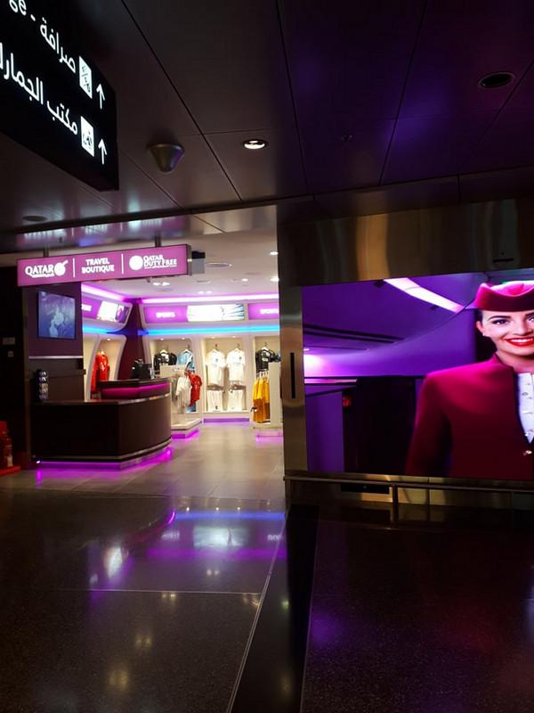 Qatar Airways-nek van saját boltja a reptéren