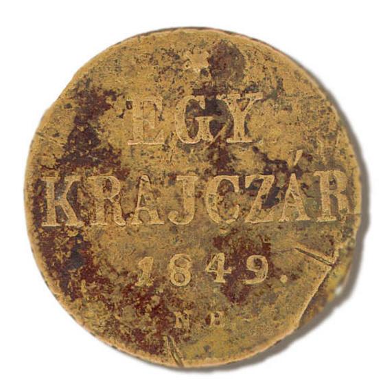 Egy krajczár 1849