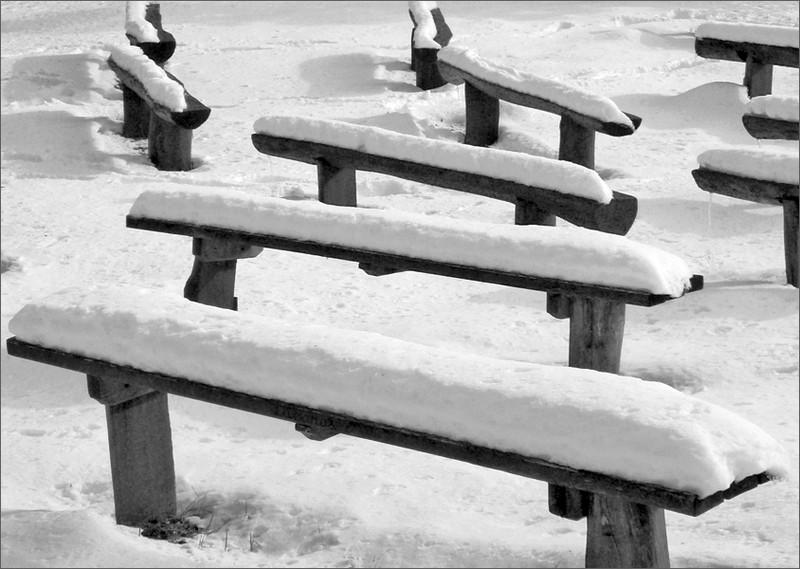 Padok a télben