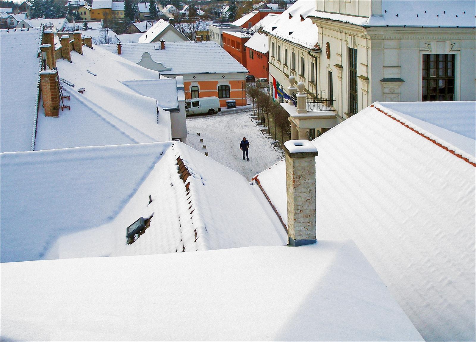 Tél a téren