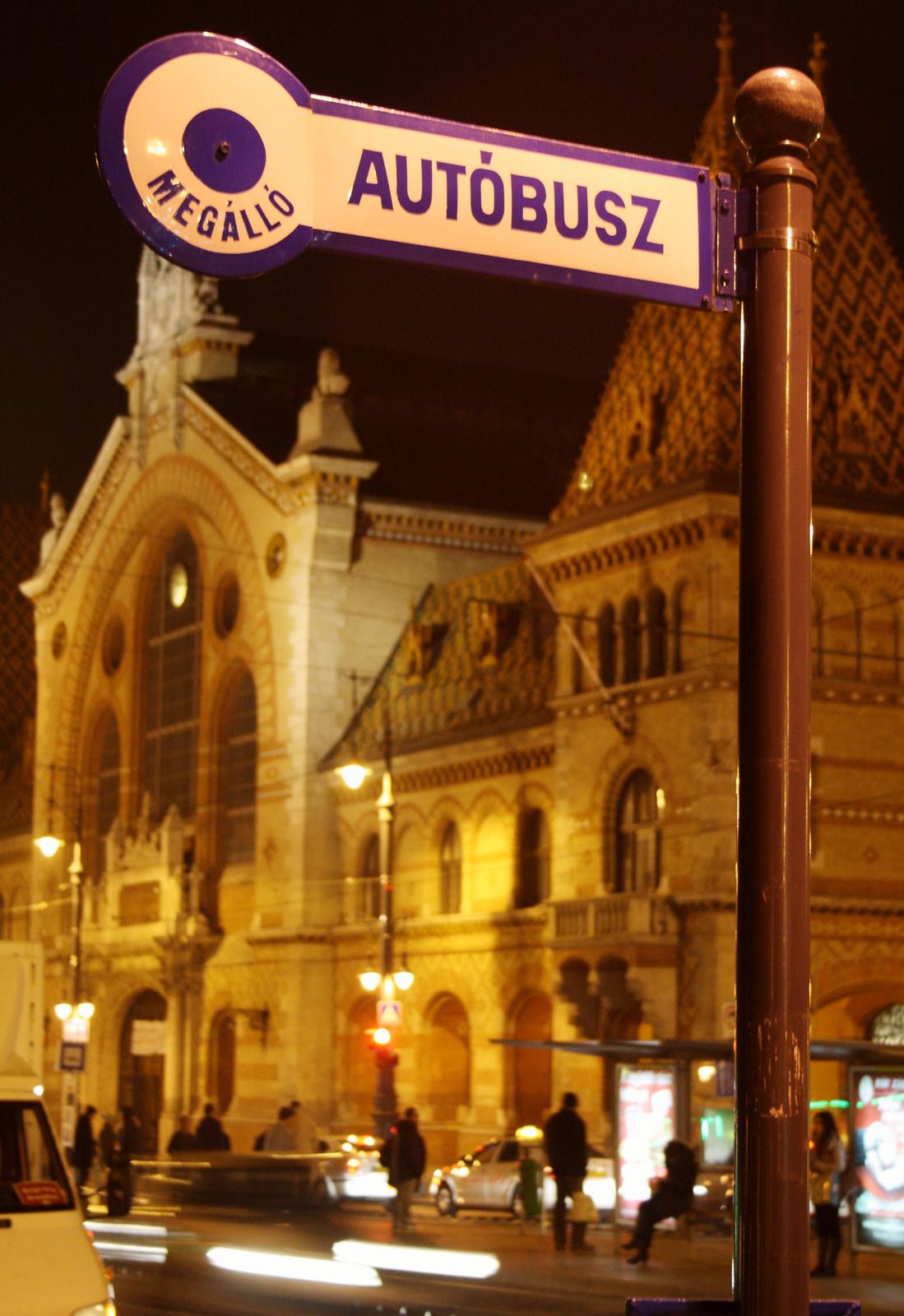 Csarnok - megálló