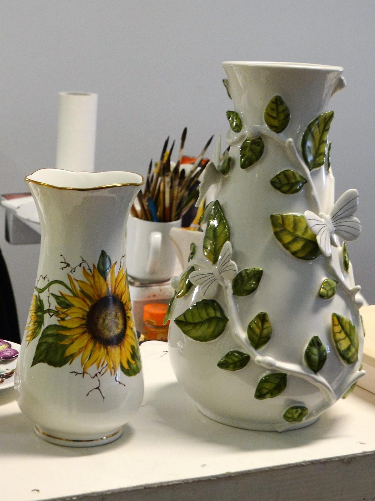 Porcelán festő műhely