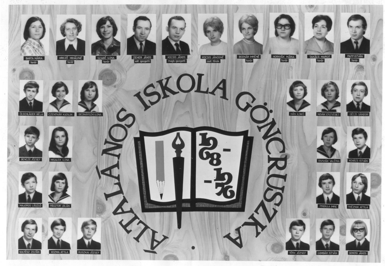 Ált. Iskola. 1976.