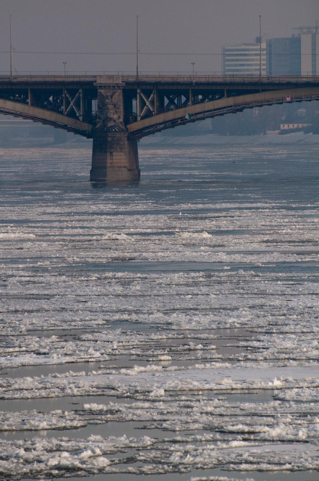Margit híd, jégzajlás
