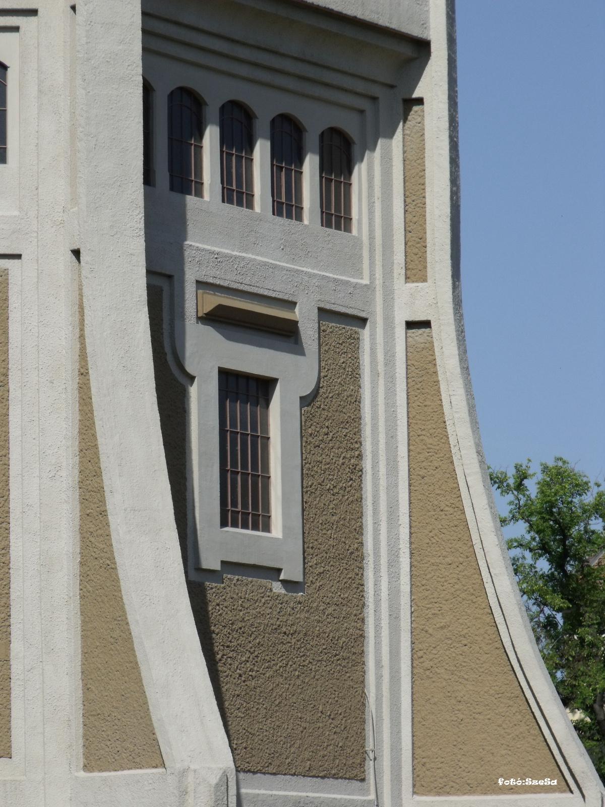 Víztorony - ablakok