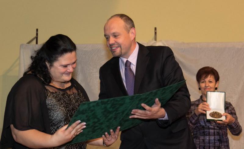 RCSBAUJTELEP DÍJ 2014 Tabajdi Veronika magyartanár, Diadal2