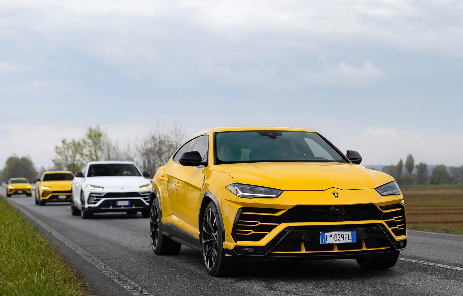Lamborghini Urus combo