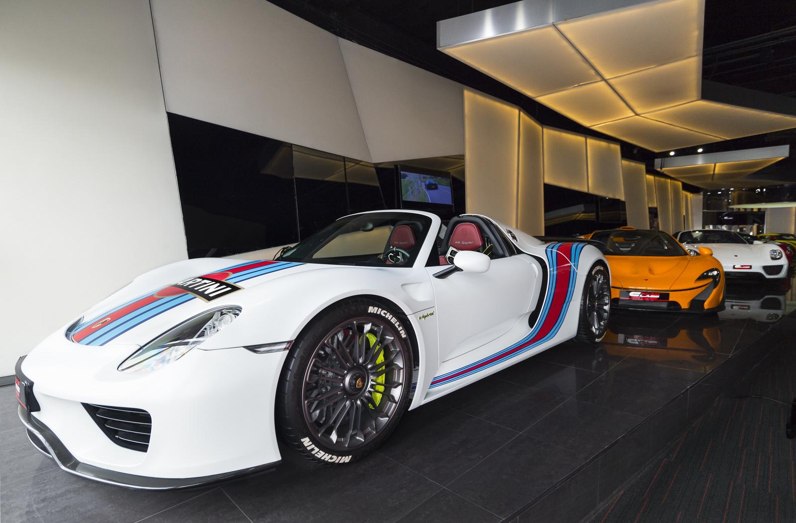 Porsche 918 Spyder - McLaren P1 - Porsche 918 Spyder