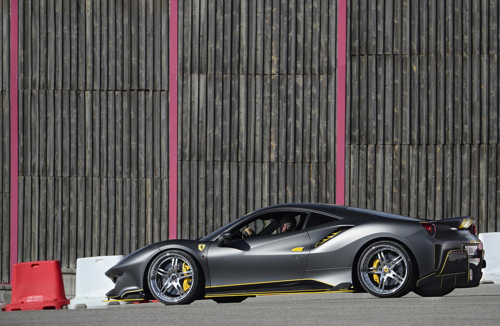Brill Steel Motorsport Ferrari 488 Pista