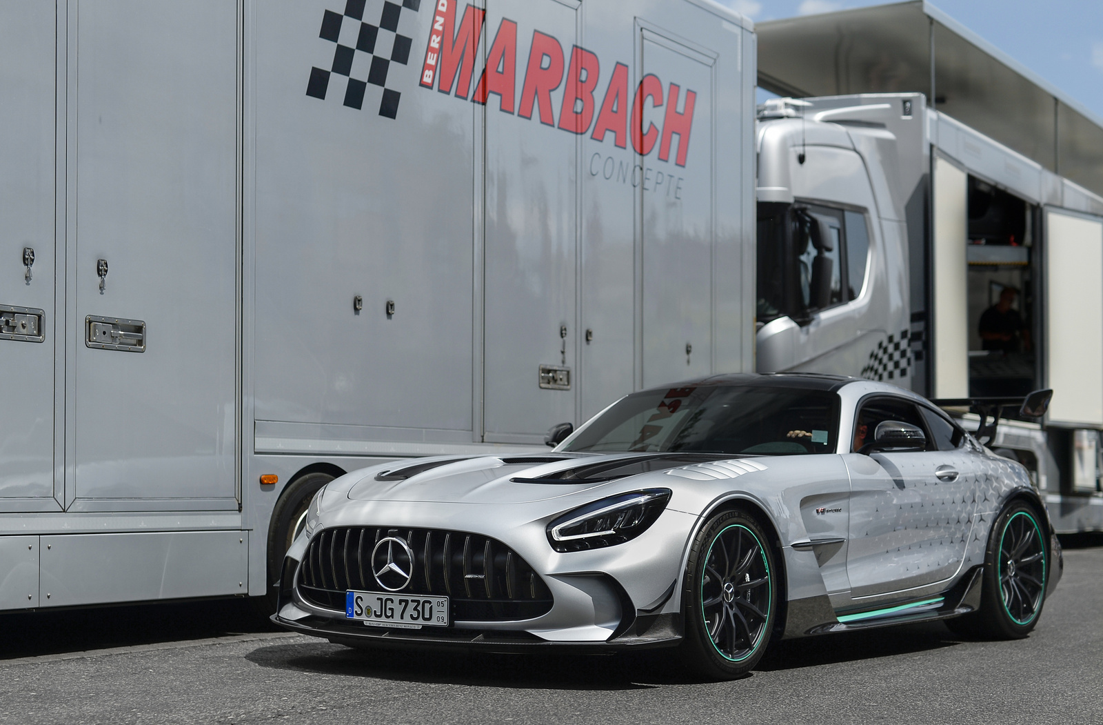 Mercedes-AMG GT Black Series Project One Edition