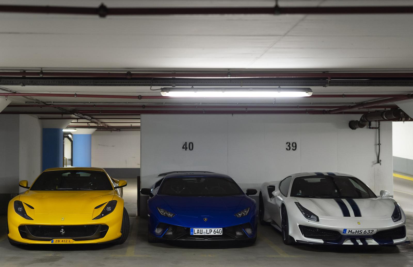 Ferrari - Lamborghini - Ferrari