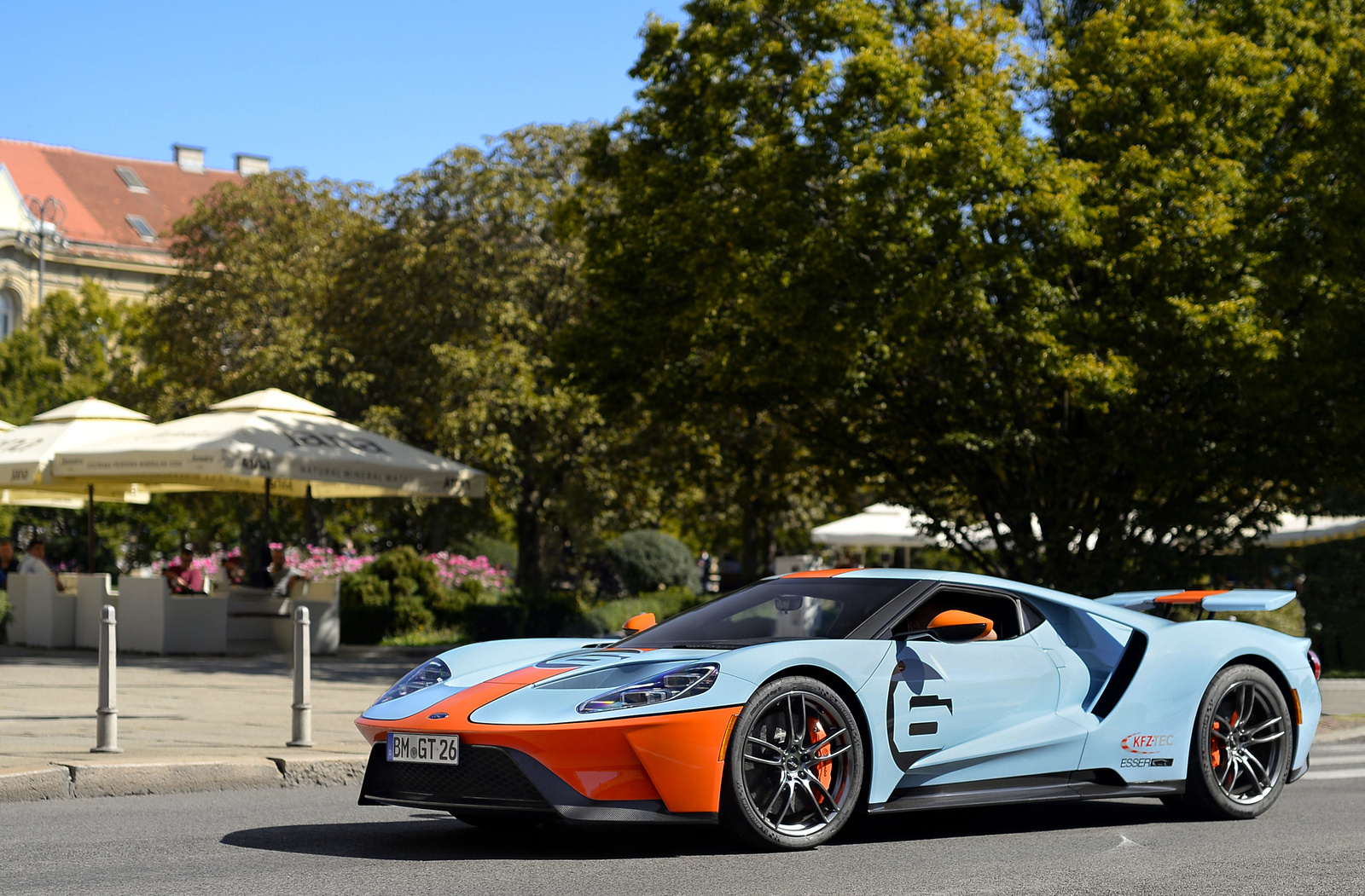 Ford GT Heritage Gulf Livery