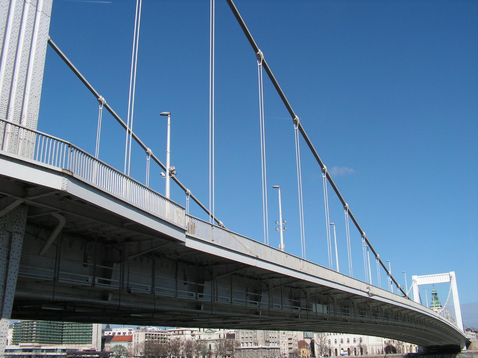 Budapest, az Erzsébet-híd, SzG3