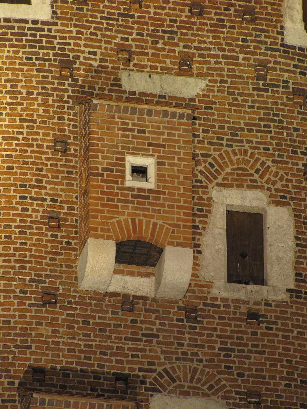 Krakkó, a Wawel, a Sandomierz-i bástya, SzG3