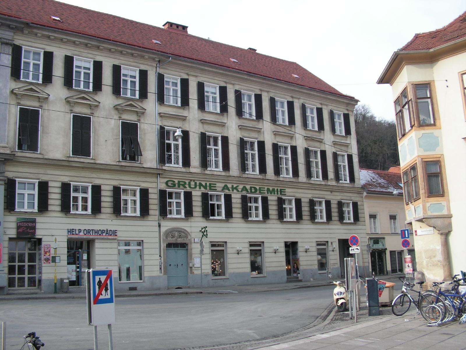 Ausztria, Grác, a Grüne Akademie, SzG3