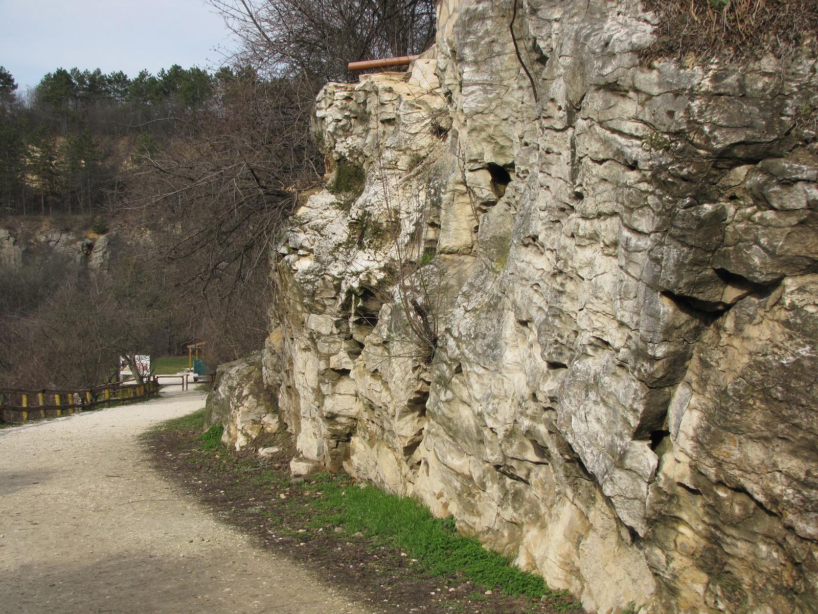 Budapest, a Pál-völgyi barlang, a kőbánya, SzG3