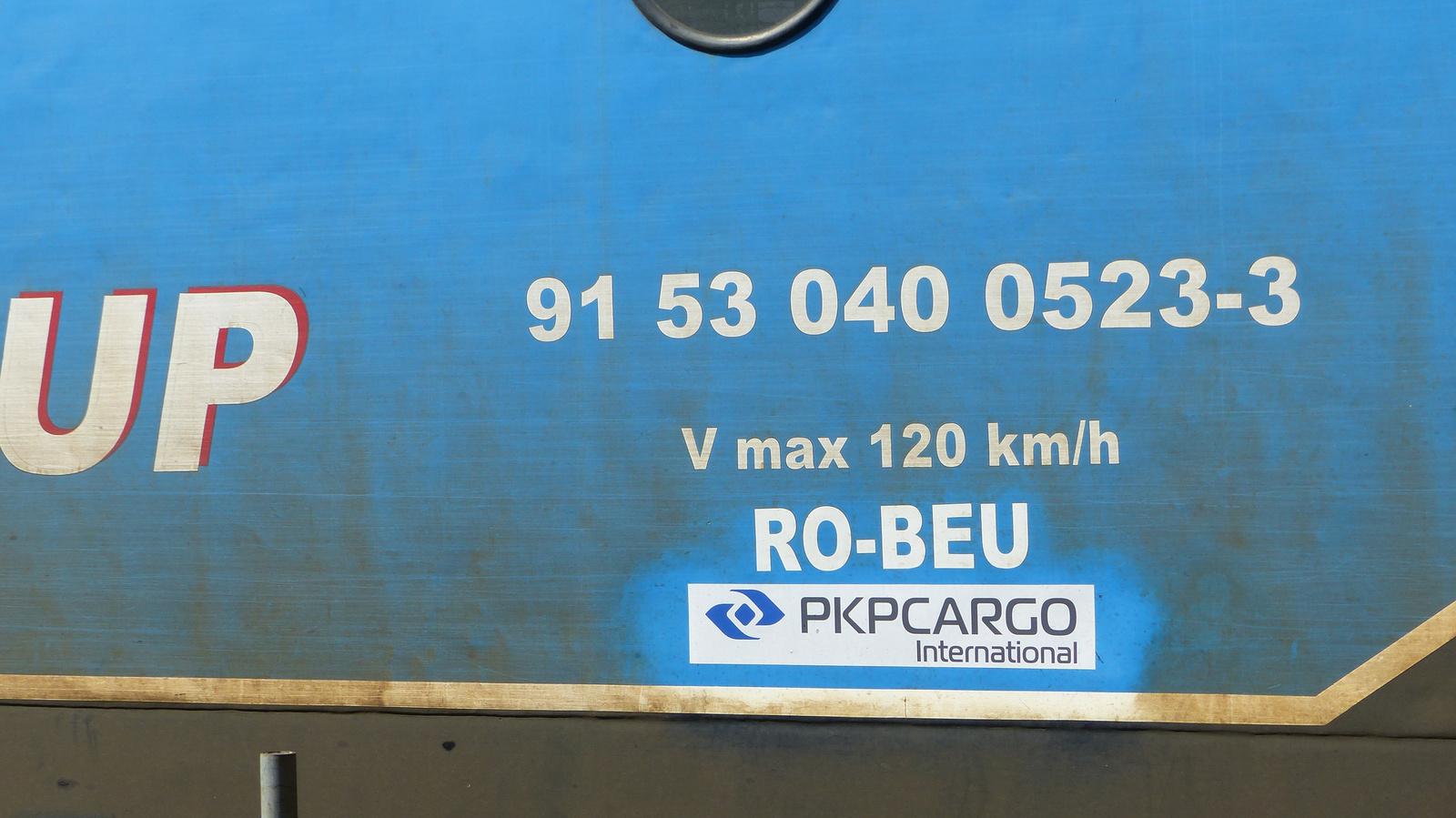 RO-BEU 91 53 040 0523-3, SzG3