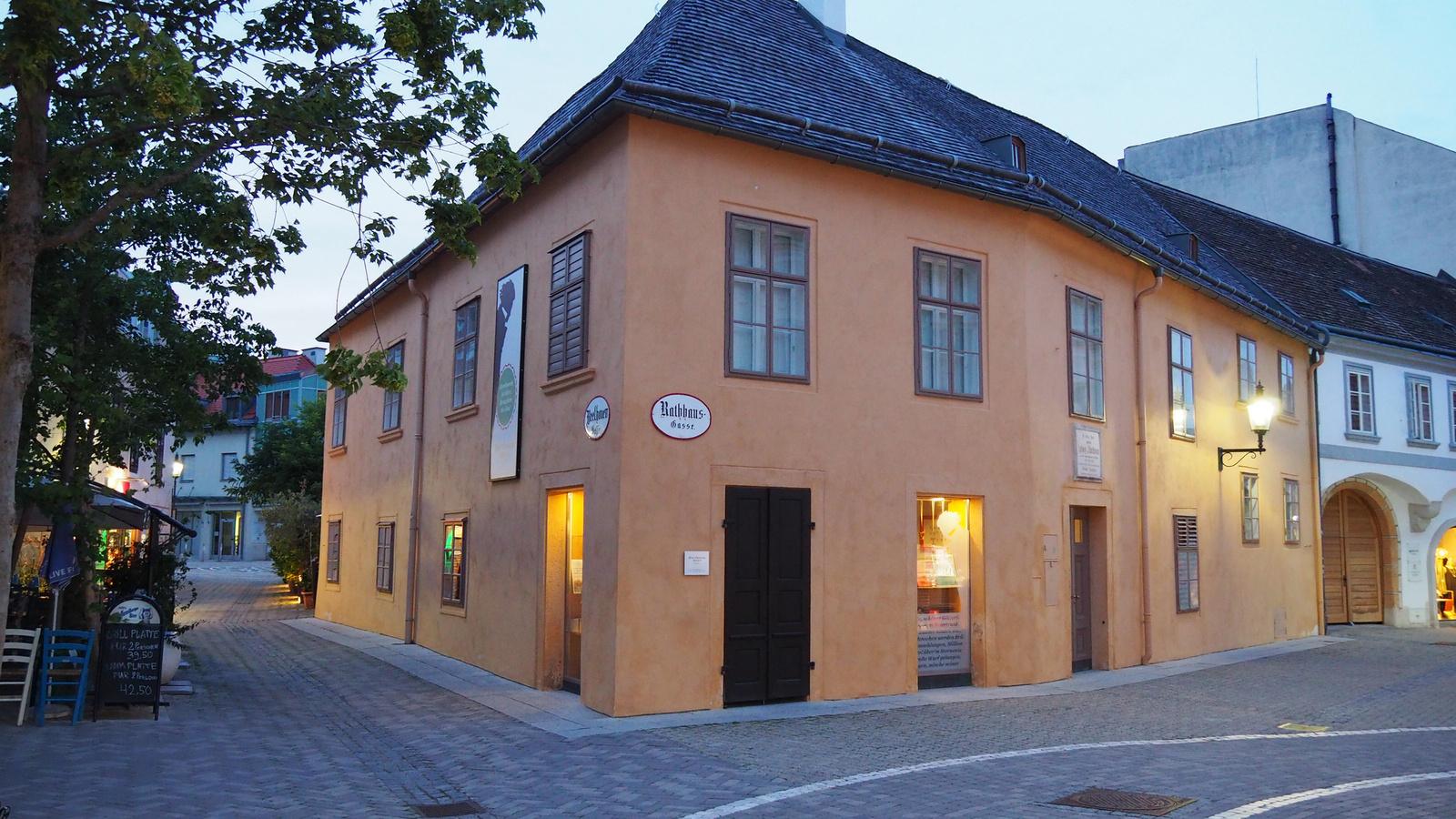Baden bei Wien, Beethovenhaus, SzG3