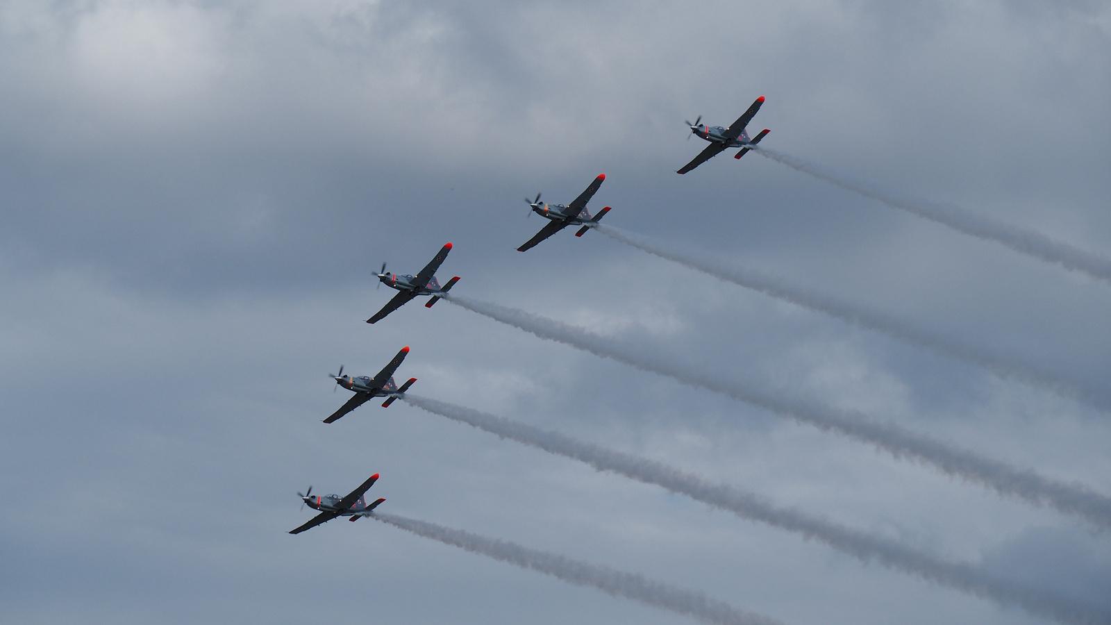 Polish Air Force, Orlik Team, PZL-130, SzG3