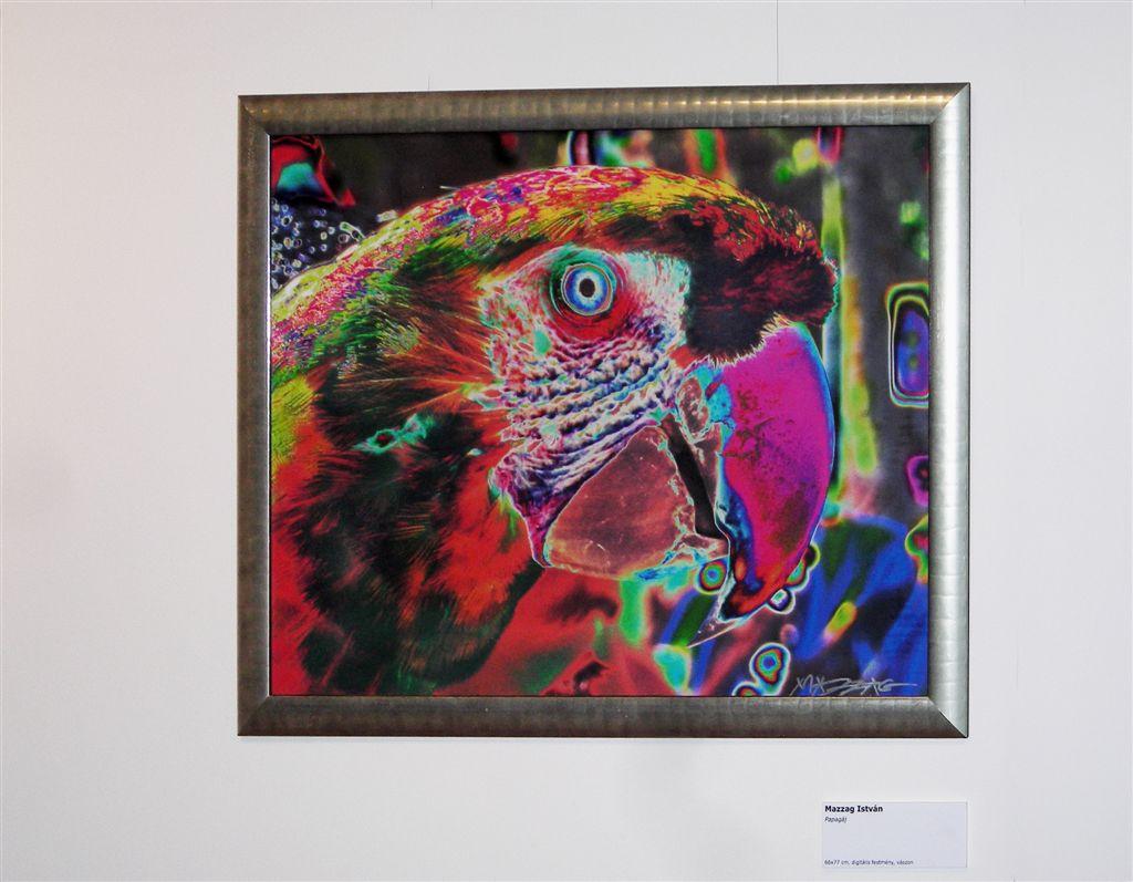 Mazzag István-papagály