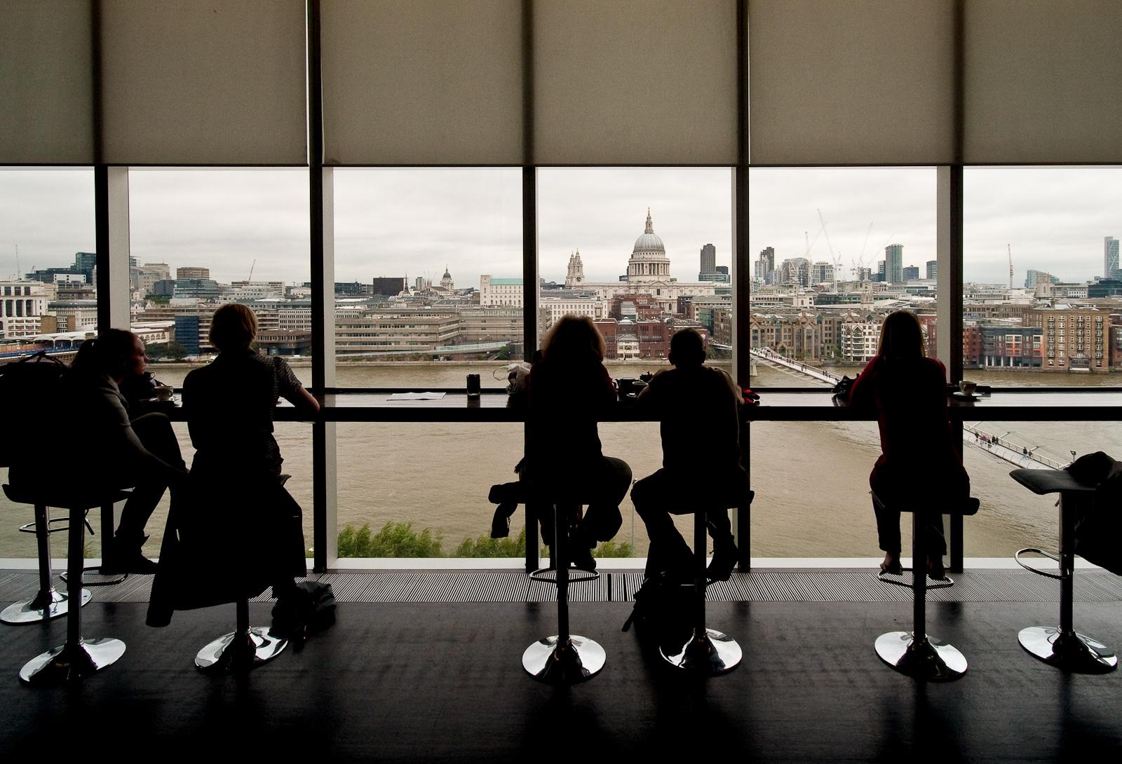 Kilátás a Tate Modernből