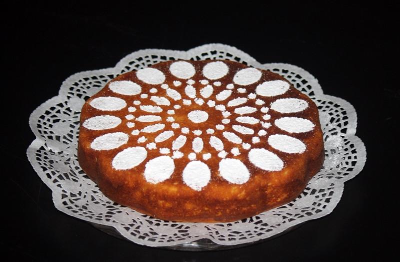 Kukoricás sütemény