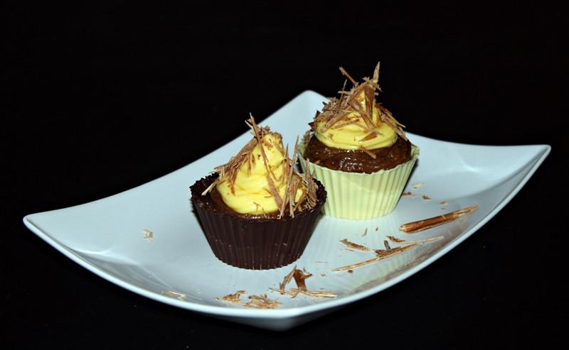 Csokoládés csoki kosárkák