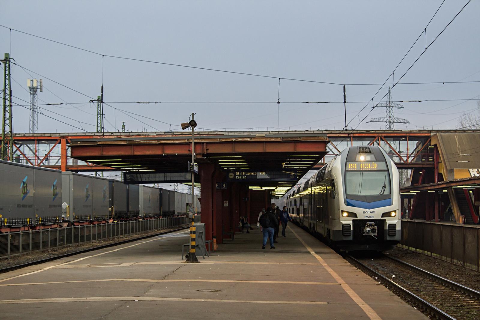 815 002 Kőbánya-Kispest (2021.02.02)