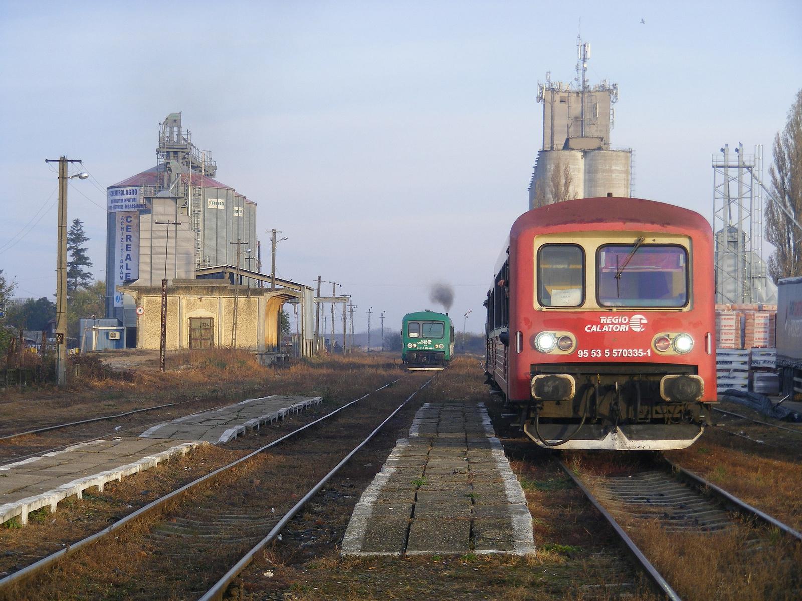 Elment a Nagylak felé induló vonat, mi még várunk