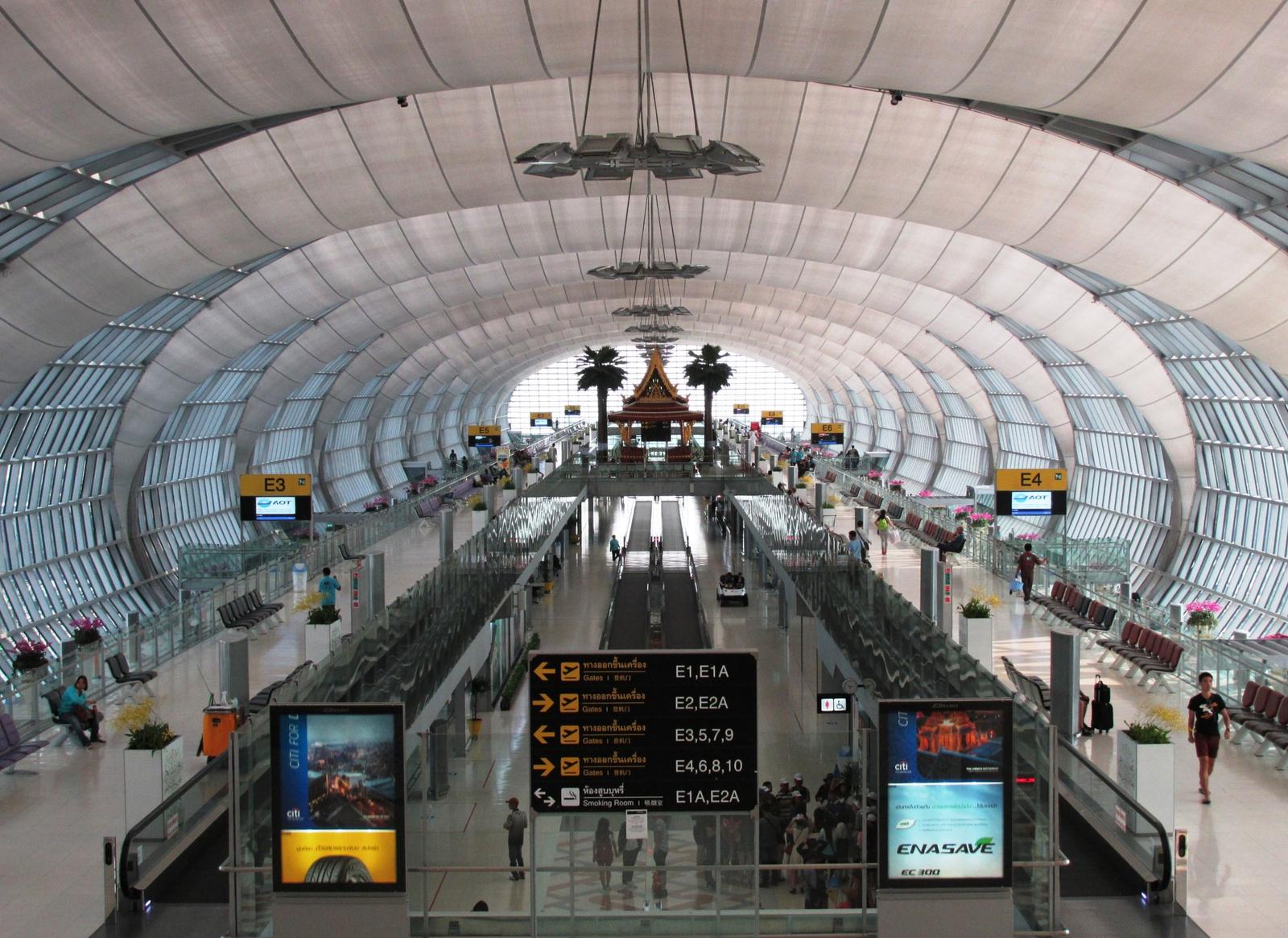 Suvarnabhumi repülőtér, Bangkok