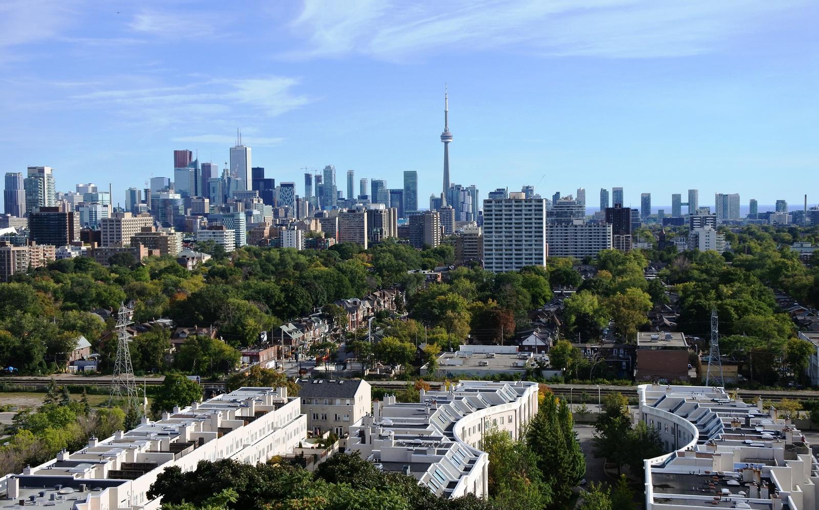 Toronto látképe