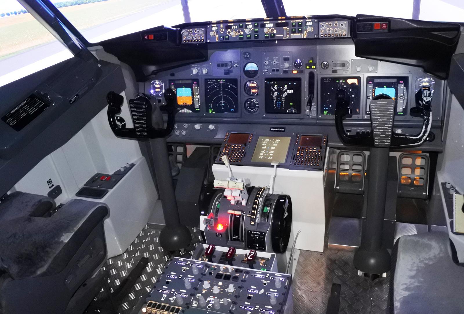 Boeing 737 szimulátor