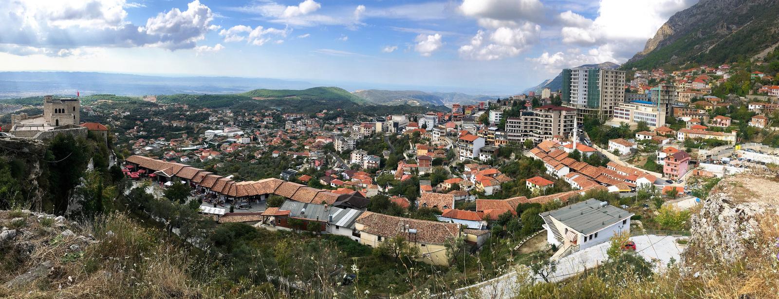 Város a hegyen