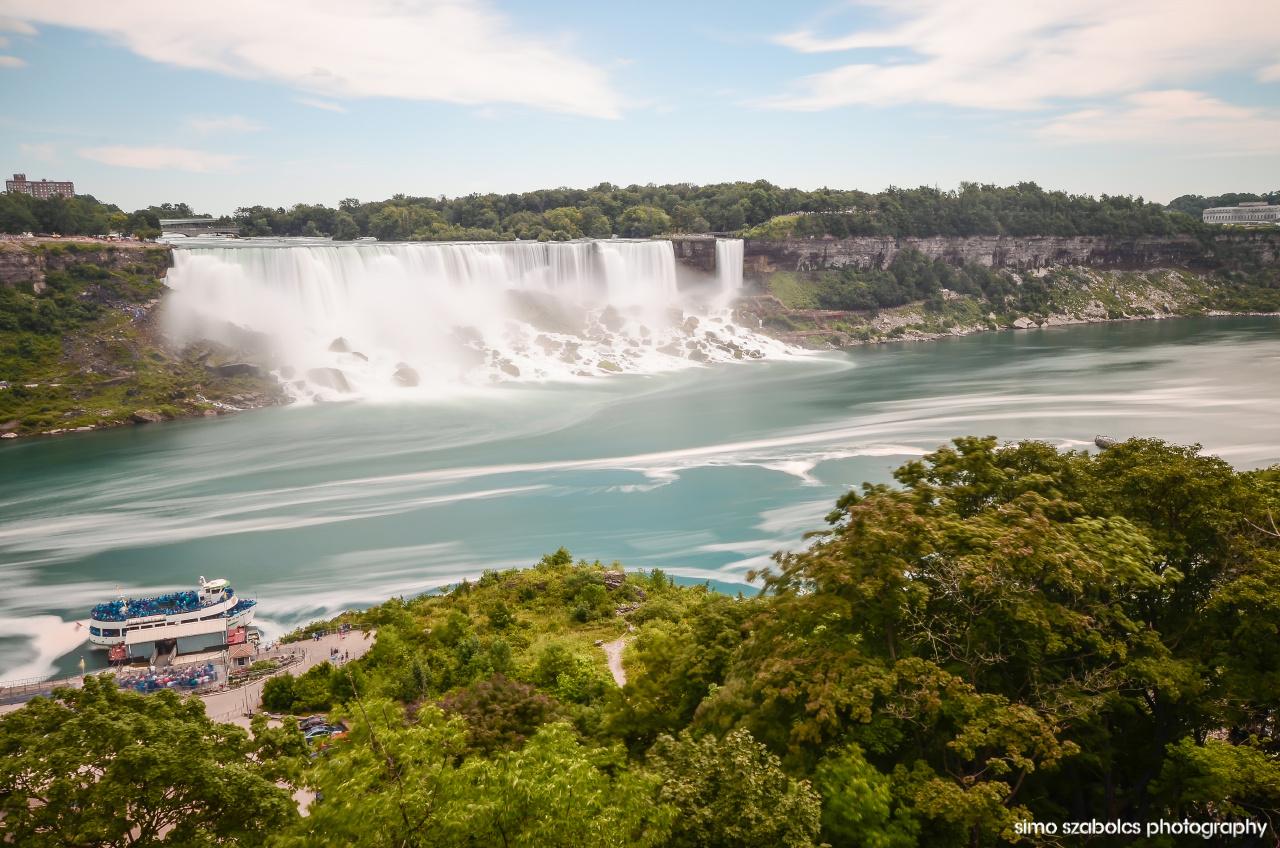 Niagara long exposure