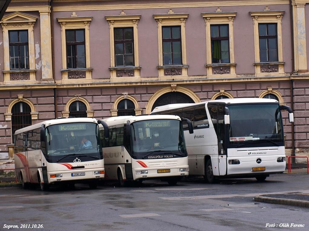 KV és VB buszok