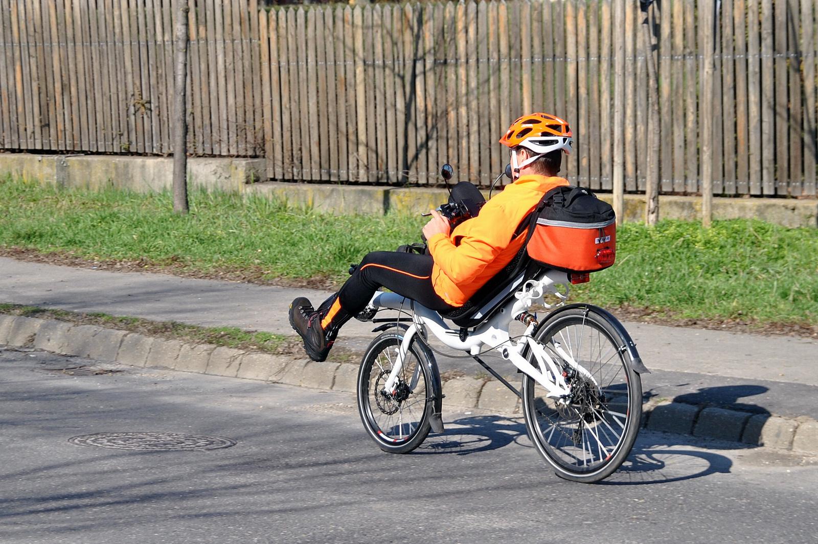 Kényelmes bringás