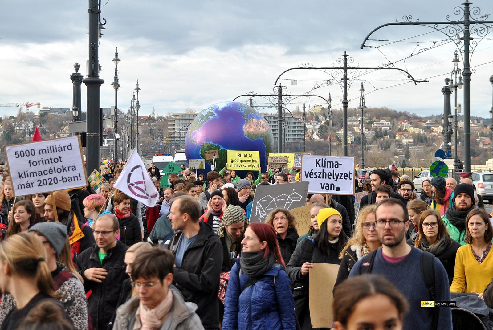 IV. Globális klímasztrájk, Budapest 2019.