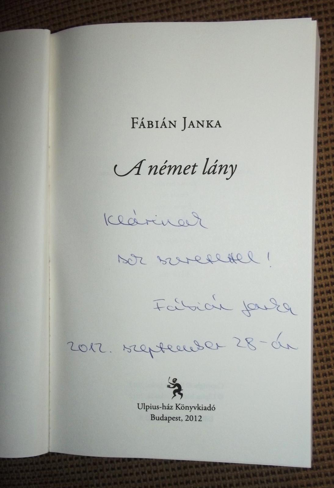 A könyvem