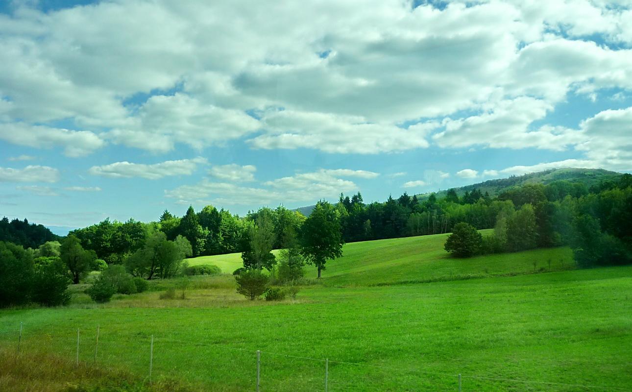 Szlovénia dombjai